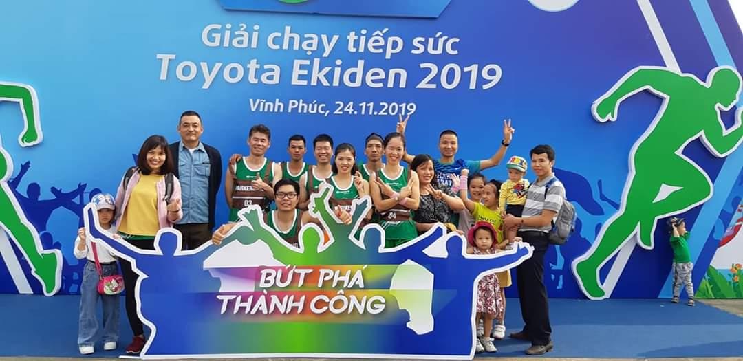 Giải chạy tiếp sức Toyota Ekiden 2019